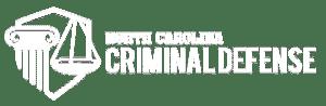 north carolina criminal defense lawyer logo-white